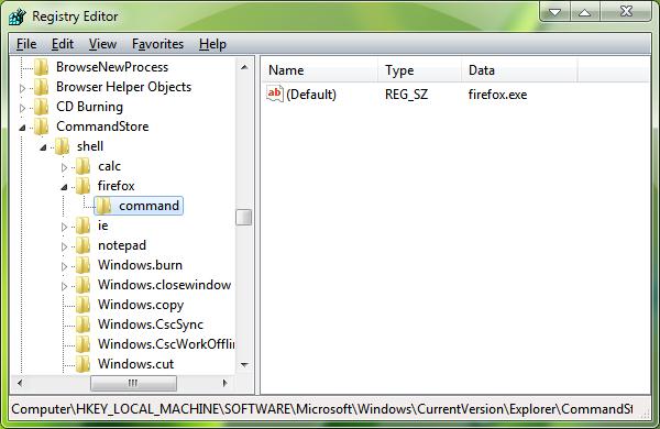 Добавление каскадного меню в Windows 7
